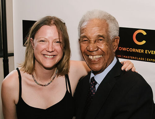 A great night with Sir Garfield Sobers