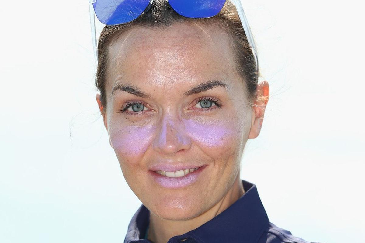 Victoria Pendelton And Nolli Waterman Visit Laureus Programmes